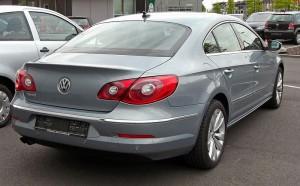 Tył VW Passata CC
